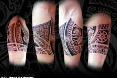 Tatouage Marquisien bracelet homme tagaloa tiki tattoo