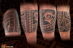 Tatouage Bracelet marquisien tagaloa tiki tattoo