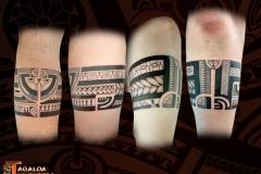 bracelet avant bras marquisien TAGALOA TIKI TATTOO