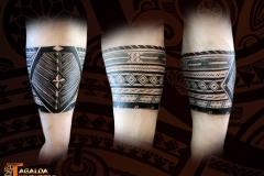 Bracelet tatouage Samoa Tagaloa Tiki Tattoo