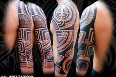 tattoo bras marquisien traditionnel