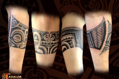 tatouage bracelet homme Marquisien