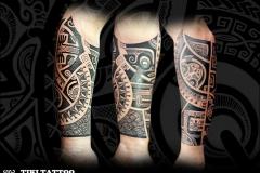 tatouage_avant_bras_tour_complet_tikitattoo_marquisien