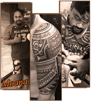 Tatoueur Moana Tiki Tattoo